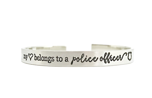 Love My Police Officer Cuff