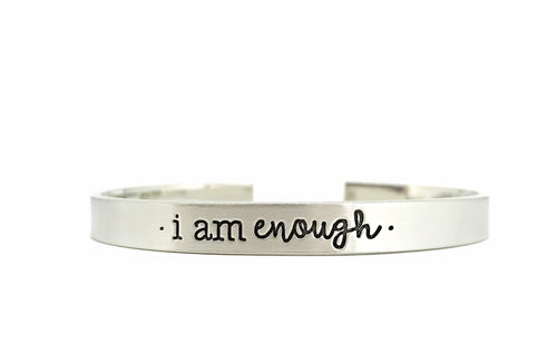 I Am Enough Cuff