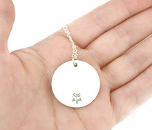 Load image into Gallery viewer, Love My Police Officer Sterling Silver Necklace