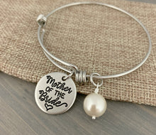Load image into Gallery viewer, Mother of the Bride or Groom Adjustable Bracelet