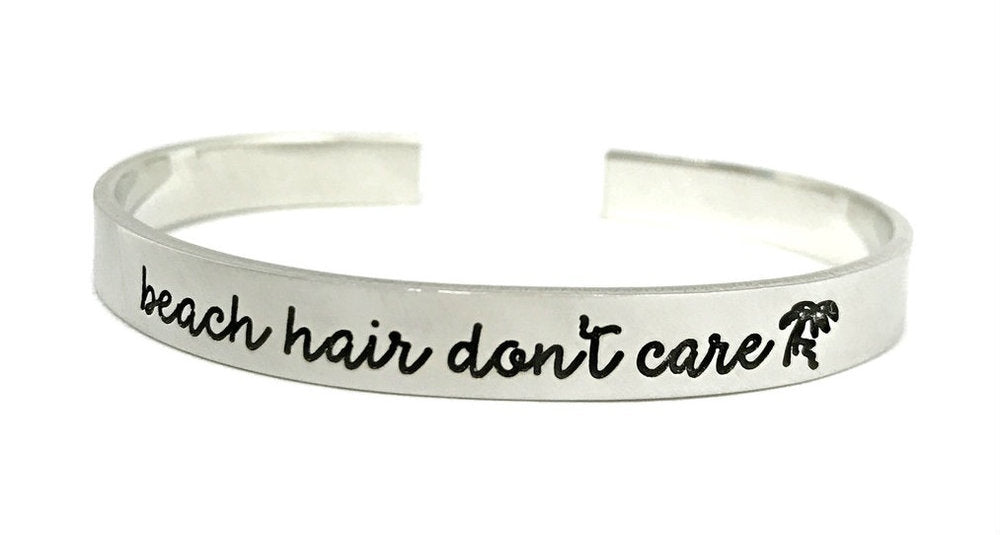 Beach Hair Don't Care Cuff