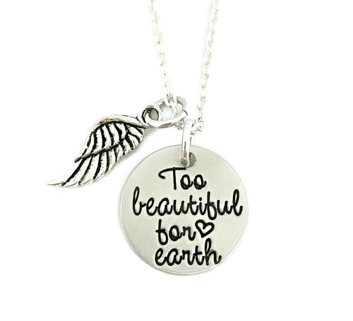Too Beautiful For Earth Necklace