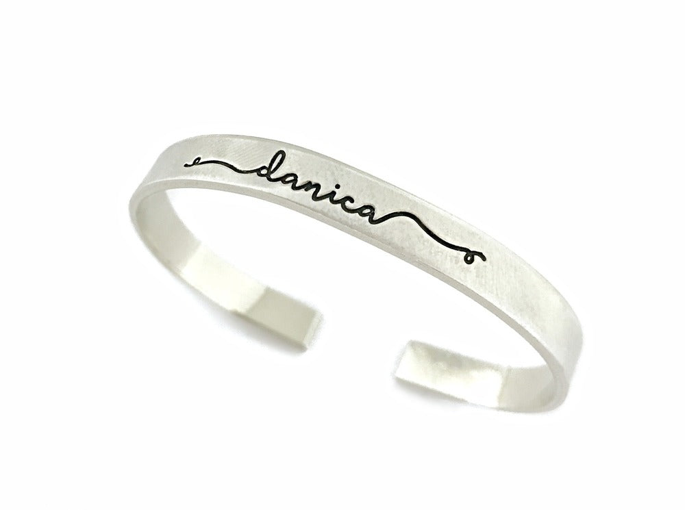 Personalized Name Cuff