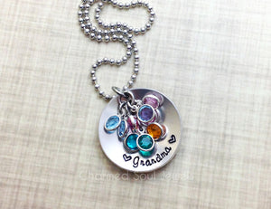 Grandma's Little Sparkles Necklace