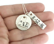 Load image into Gallery viewer, Anniversary Sterling Silver Necklace