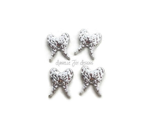 LOCKET CHARMS - Silver Wing - Add Charms To Your Floating Locket