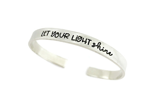 Let Your Light Shine Cuff