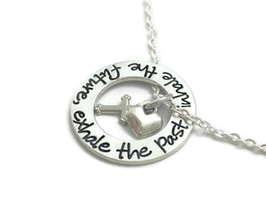 Inhale The Future Exhale The Past Necklace