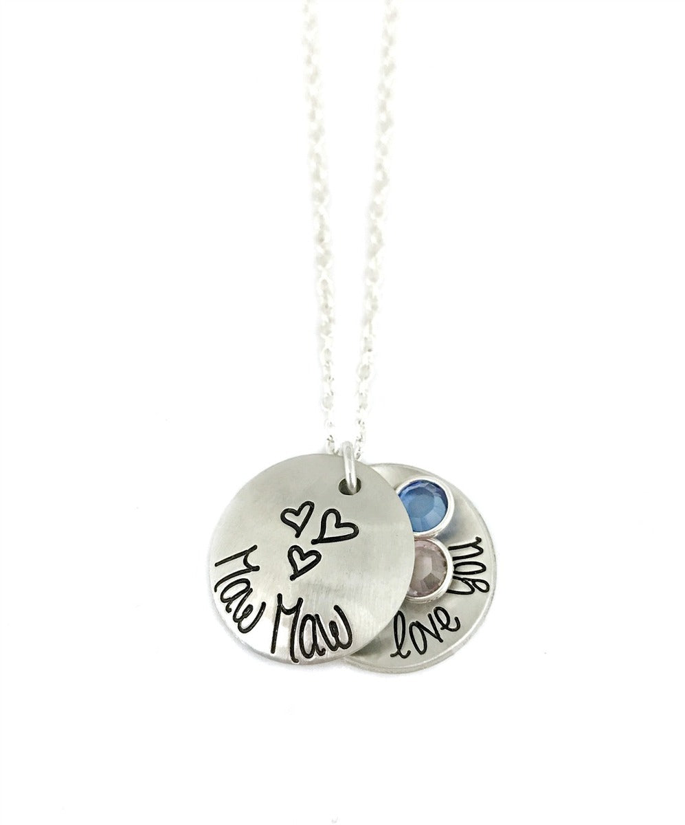 Grandma - Personalized Locket Necklace