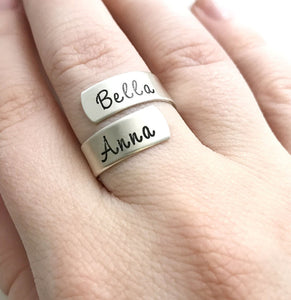Sterling Silver Original Wrap Ring