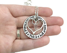 Load image into Gallery viewer, I Love You A Bushel And A Peck And A Hug Around The Neck Necklace