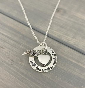 Cremation Memorial Personalized Necklace