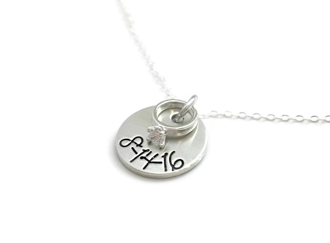 Future Bride - Special Date Necklace