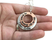 Load image into Gallery viewer, My Greatest Blessings Call Me Mimi - Mixed Metal Necklace