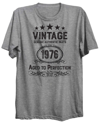 Vintage Birthday Personalized Custom 01 Unisex Tshirt