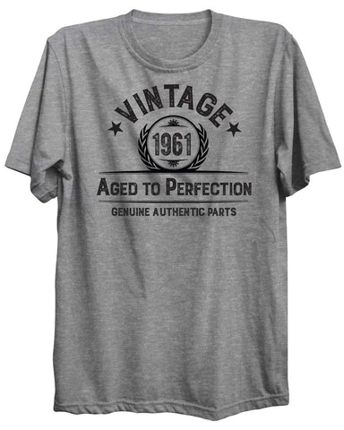 Vintage Birthday Personalized Custom 02 Unisex Tshirt