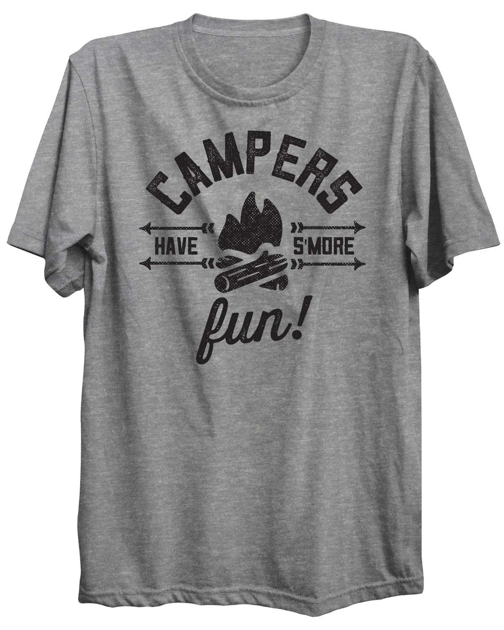 Campers Have S'more Fun! Camping Outdoors Unisex Tshirt