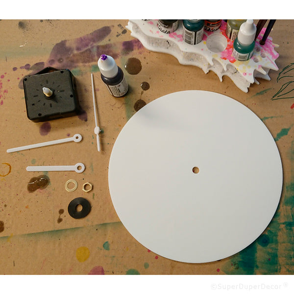 Artists Wall Clock - blank face