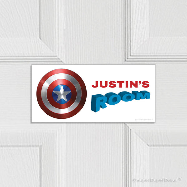 Captain America Shield - door plaque