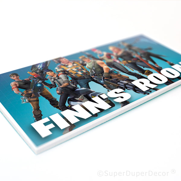 Fortnite - door plaque