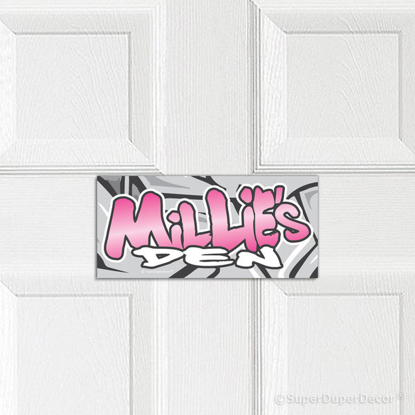 Graffiti Style - door plaque