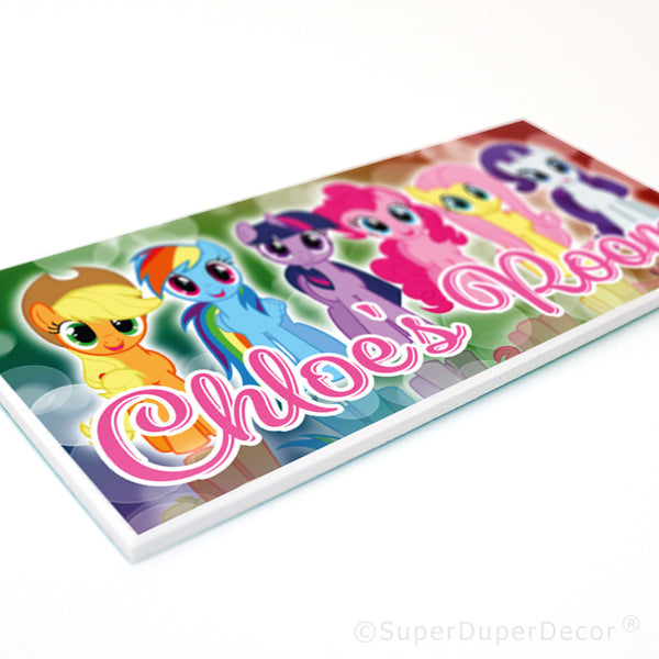 My Little Pony - door plaque