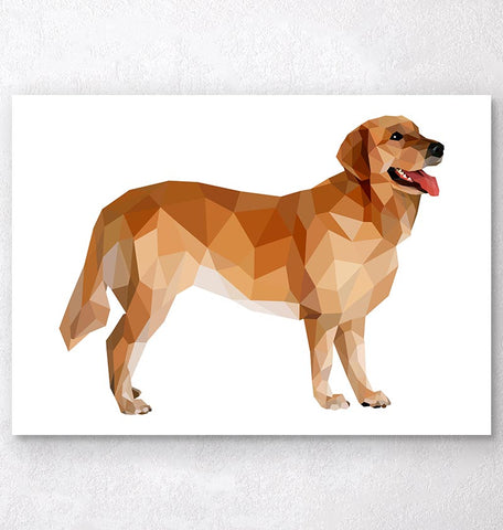 Labrador dog art print