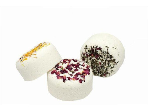 Bath Bombs - Rose Geranium & Olive Oil-Bath Bombs-Cider and Basil