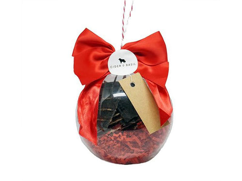 Christmas Gifts for Dogs - Dog Treat Christmas Baubles (Large) - Beef, Kangaroo & Mixed-Christmas Collection-Cider and Basil