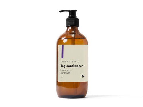 Dog Conditioner - Wild Lavender & Geranium Leaf-Dog Conditioner-Cider and Basil