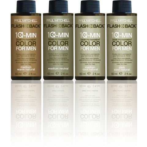 Paul Mitchell Flash Back Mens Colour