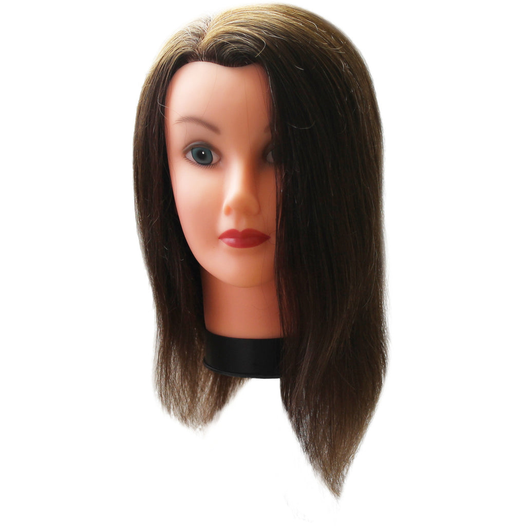Mannequin Head 100% Human Hair