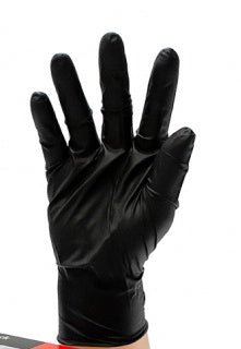Gloves Nitrile Black - Latex free