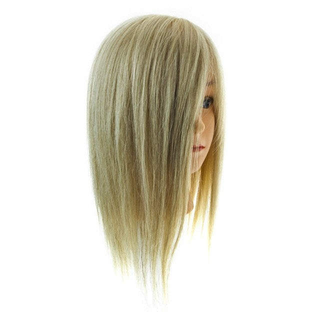 Mannequin Head 100% Human Hair Blonde Hair
