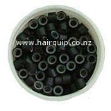 Hair Extension Micro Rings with Silicon