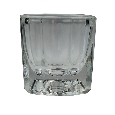 Nail Dampen Dish Glass