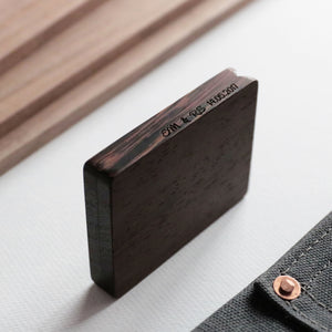Wenge Engagement Ring Box - Woodsbury Ring Box