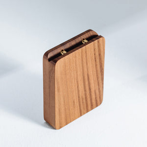 Walnut Engagement Ring Box