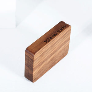 belladora-ring-boxes Walnut Engagement Ring Box Classic