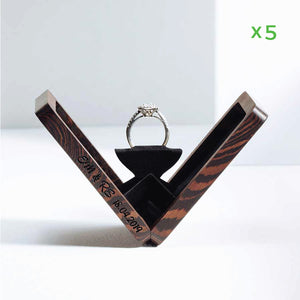belladora-ring-boxes Wholesale Wenge Engagement Box Wholesale