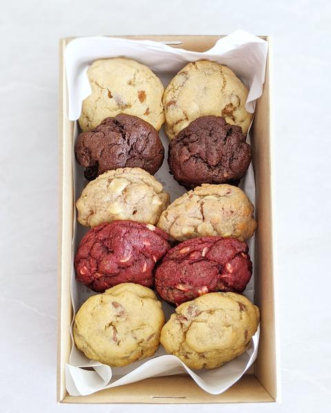 NYC CHUNKY COOKIE BOX