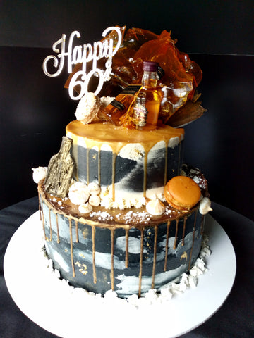 60th Two Tier Cake