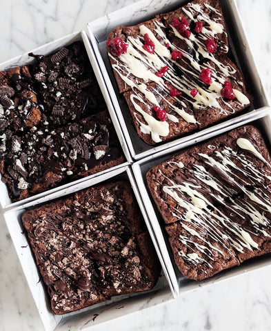 LOADED BROWNIE BOXES