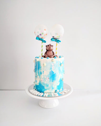 First Birthday, Monkey Themed Cake