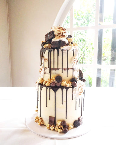 Chocolate Overload Wedding Cake