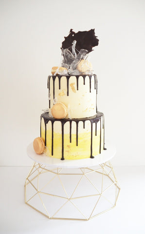 Chocolate Drip Cake, Two Tiered
