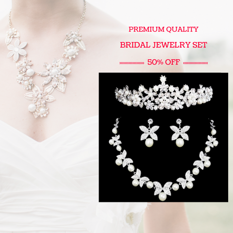 Premium Quality Bridal Jewelry Set