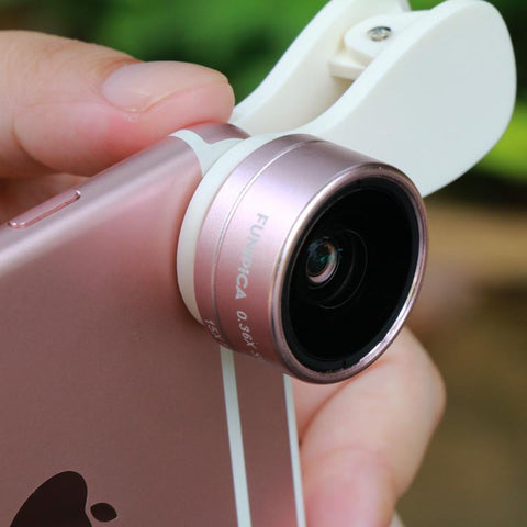 FUNIPICA 3 In 1 Camera Lenses For Smartphone