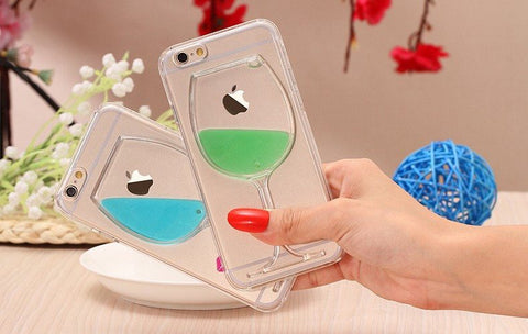 Multicolor Red Wine Glass iPhone Case – LIMITED STOCK