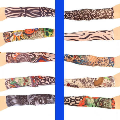 Hot Tattoo Design UV Protective Arm Sleeves